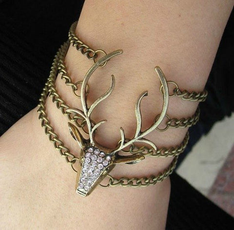 Game Of Thrones Baratheon Stag Bracelet