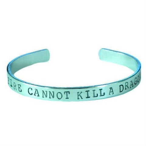 Game Of Thrones - Fire Cannot Kill Dragon Bracelet