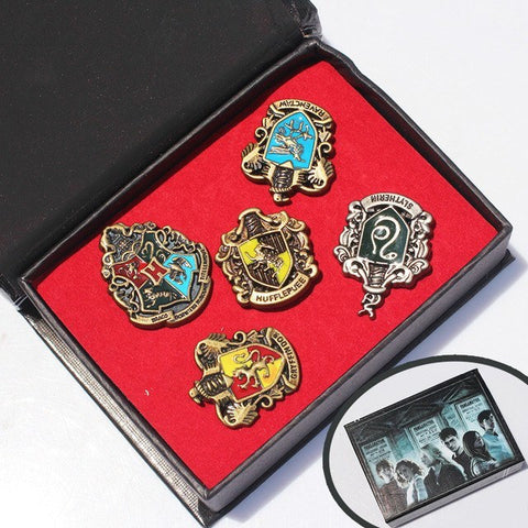 Harry Potter Metal Brooch