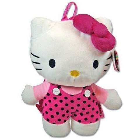 Hello Kitty 14-Inch Plush Backpack