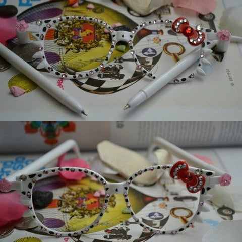 Hello Kitty Glasses With Ballpen
