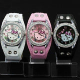 Hello Kitty Leather Watch