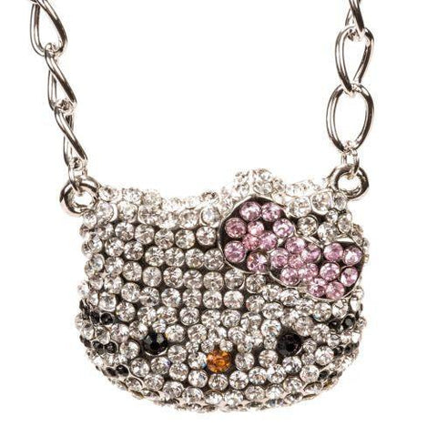 Hello Kitty Rhinestones Necklace