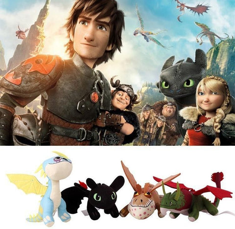 How To Train Your Dragon Plush Soft Figure