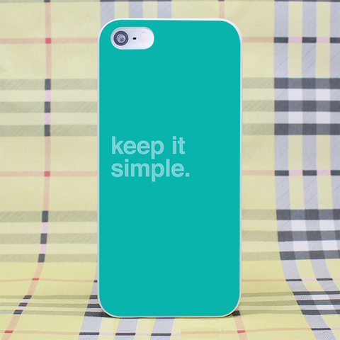Keep it Simple Mint Green Cover
