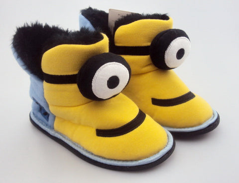 Minion Warm Plush Boots