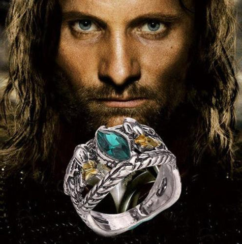 Lord Of The Rings Aragorn's Ring Of Barahir