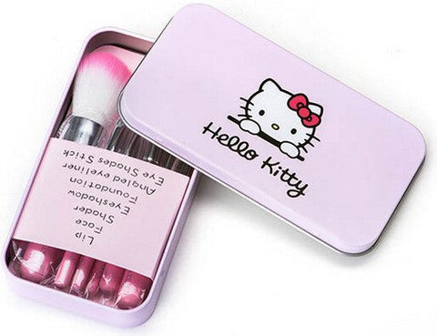 Makeup Brush - 7pcs/set Hello Kitty Pink Makeup Brush