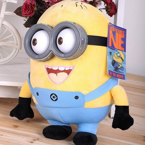 Minions 3D Eyes Plush Toy