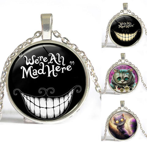 Necklace - Cheshire Cat Necklace