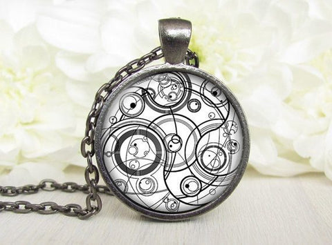 Necklace - Doctor Who Gallifrey Pendant Necklace Silver/Bronze