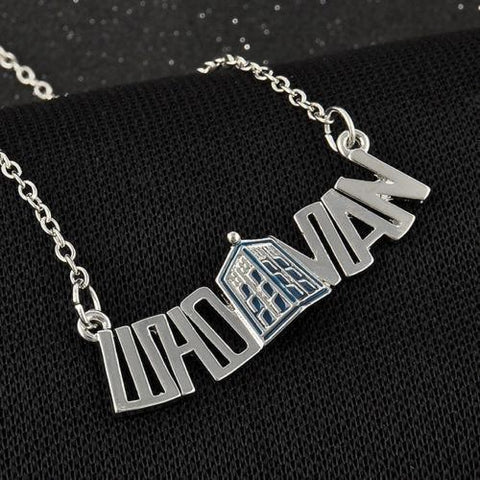 Necklace - Doctor Who Whovian 3D Police Box Pendant Necklace