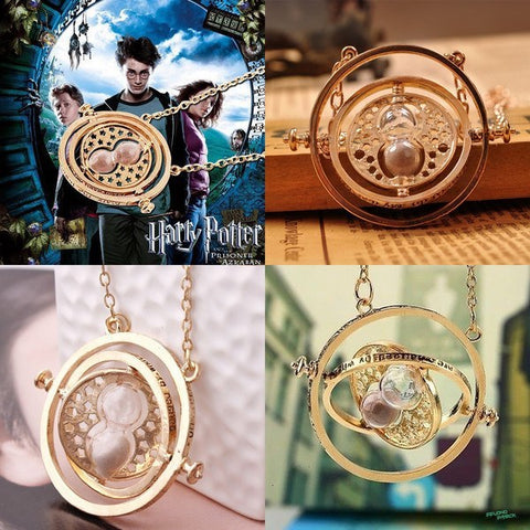 Necklace - Harry Potter Hermione Pendant Rotating Time Tuner - Special Offer!