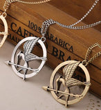 Necklace - Hunger Games Bronze And Silver Necklace