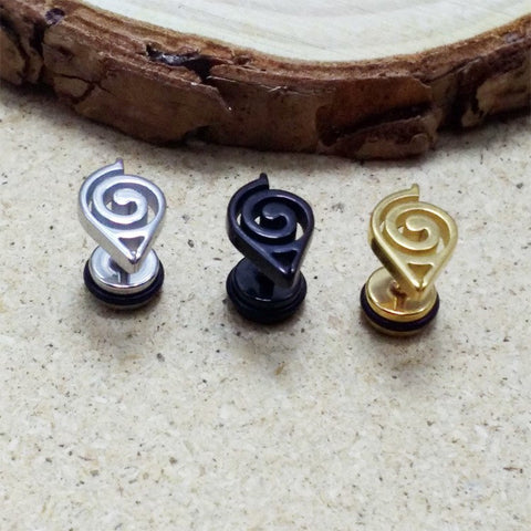 Necklace - Naruto Symbol Studs Earrings