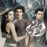 Necklace - Teen Wolf Triskelion Necklace
