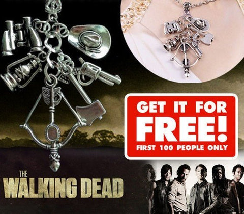 Necklace - THE WALKING DEAD CHARM NECKLACE