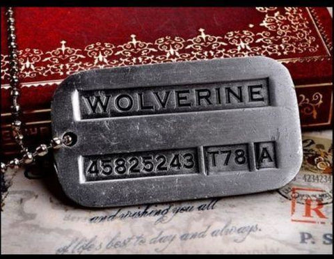 Necklace - Wolverine Dogtag