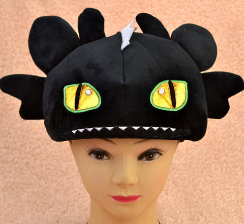 Night Fury Plush Hat