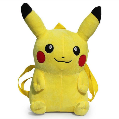 Pikachu Plush Backpack