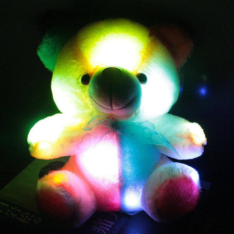 Plush Doll - Colorful Glowing Teddy Bear