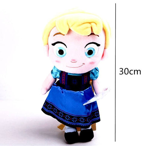 Plush Doll - FROZEN'S LITTLE ELSA PLUSH DOLL