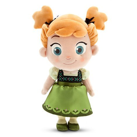 Plush Doll - FROZEN'S LITTLE PRINCESS ANNA PLUSH DOLL