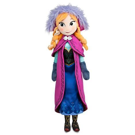 Plush Doll - FROZEN'S PRINCESS ANNA PLUSH DOLL