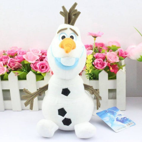 Plush Doll - Olaf Plush Doll- Frozen Disney Movie