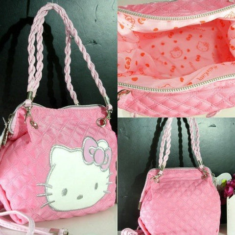 Purse - Hello Kitty Mini Bag W/ Shoulder Strap And Purse