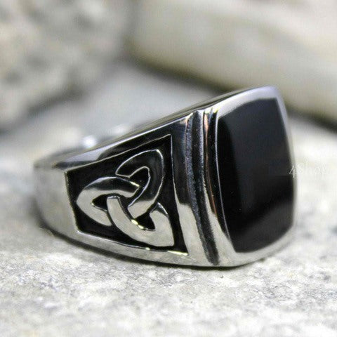 Rings - Celtic Knot Stainless Steel Ring
