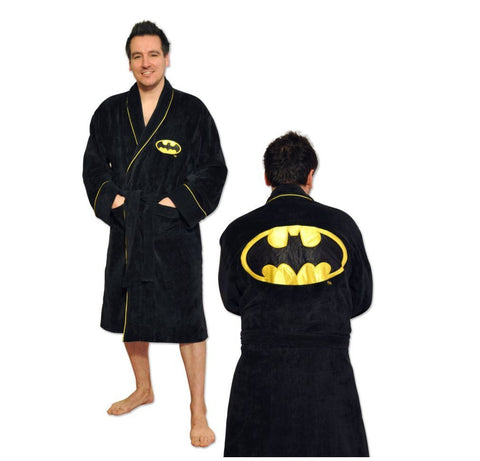 Batman Black Yellow Robe