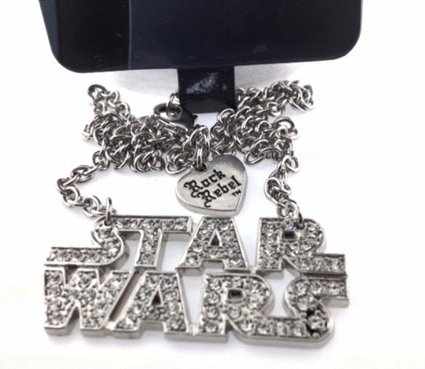 Star Wars Bling Pendant Necklace