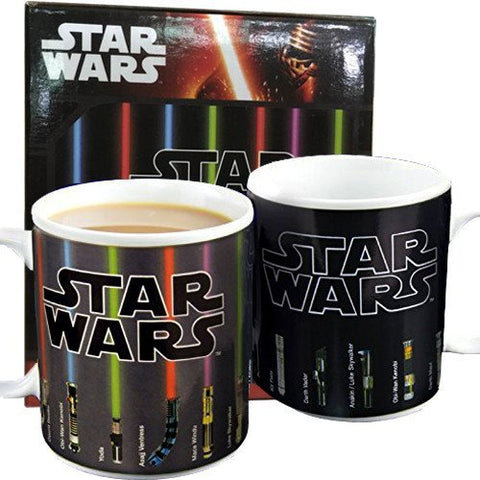 Star Wars Lightsaber Reveal Mug