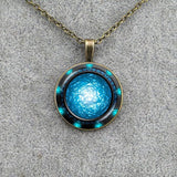 STARGATE PORTAL GLOW IN THE DARK NECKLACE