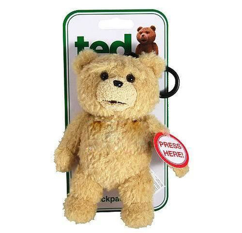 TED 6 INCH TALKING PLUSH TEDDY BEAR