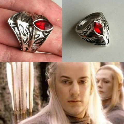 The Hobbit LOTR: Haldir's Elf RIng