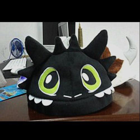 Toothless Plush Hat
