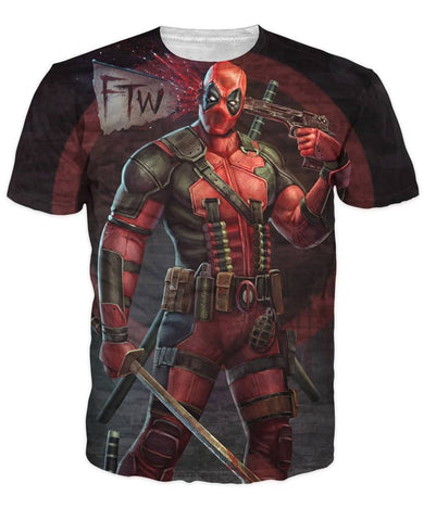 Tops - Deadpool Casual T-shirt