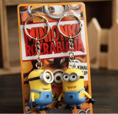 Toys, Games, And Collectibles - 2pcs/lot Minions Key Chains