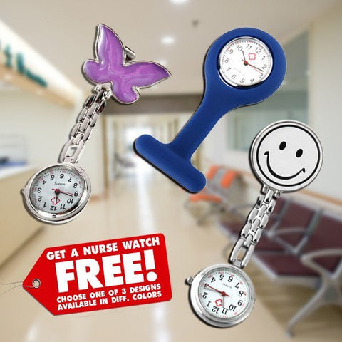 Watch - Nurse Clip-On Watch
