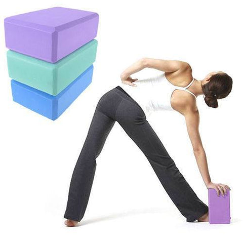 Yoga - NEW - Yoga Pilates EVA Foam Block