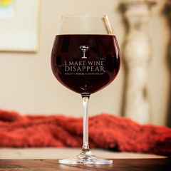 What's Your Superpower Wine Glass