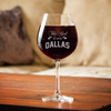 Image of This Girl Loves - Personalized Wine Glass