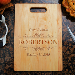 Couples Love Cutting Board