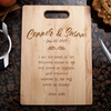 Image of John 6:35 Verse Cutting Board
