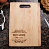 Image of Couples Cutting Board - Floral