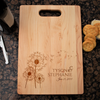 Image of Couples Love Cutting Board - Dandelion