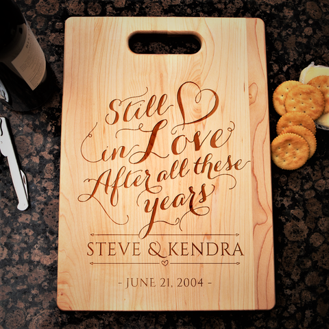 Couples Still in Love Cutting Board