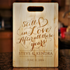 Image of Couples Still in Love Cutting Board